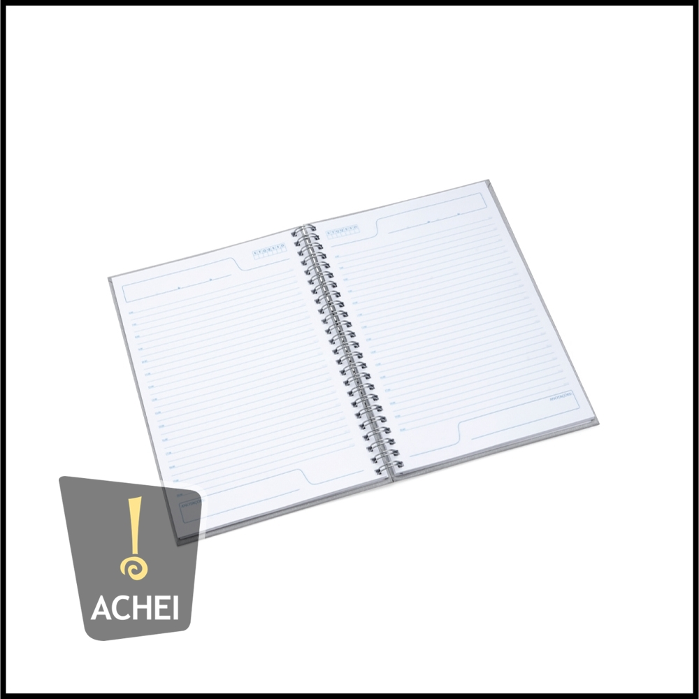 Caderno Pequeno Com Frente E Verso Liso Pintura Texturizada E