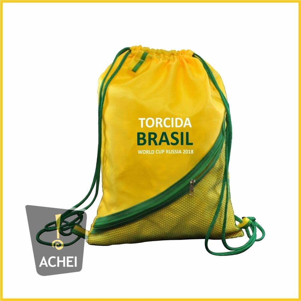 97d953132 Sacochila ou Mochila Saco com bolso frontal vertical. - Achei ...